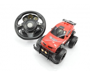 01:14 2.4GHz Volant RC Cross Country voiture