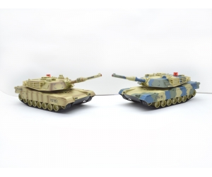 1:14 8 Channel Radio Control Battle Tank RC with Infrared & Station SD00316388