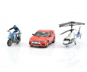 2-channel remote control helicopter three-channel remote control car remote control + remote control motorcycle