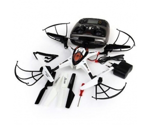 2.4G 4CH 4 Axis Gyro Professional RC Quadcopter aircraft UFO with LCD screen Headless Mode