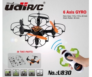 2.4G 4CH 4-Axis Hand Sensor Mini RC UFO Copter With Gyro