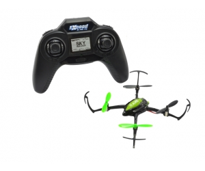2.4G 4CH 6-Axis RC UFO Quadcopter With LCD Controller Micro Quadcopter