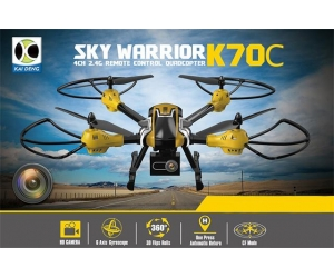 2.4G RC Drone With 2.0MP Camera RFT With Light