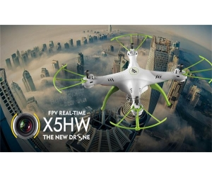 2.4G WIFI FPV Quadcopter WITH 0.3MP CAMERA WITH HEADLESS MODE RTF