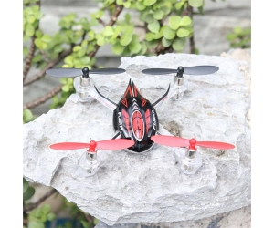 2.4G wl toys quadcopter with 6-axis gyro 3D stable flying