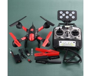 2.4GHz 4CH 6-Axis Wi-Fi Quadcopter Real Time Transmission With LED Light 0.3MP camera