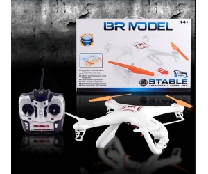 2.4GHz 6 Channel RC Aircraft Quadcopter with 0.3MP HD Camera SD00326687