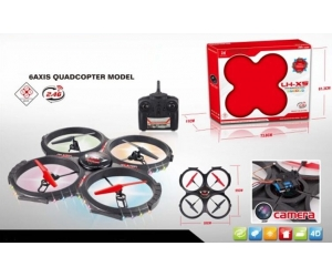 2.4Ghz 4Channel RC 4 ASSI GYRO Quadcopter con 0.3MP Camera + 1G Memory Card SD00326918
