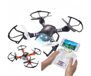 2.4Ghz 6-Axis Wifi FPV Drone Gyro RC Quadcopter Drone & HD Camera