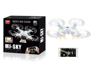 2.4ghz Wifi Control Quadcopter with HD Camera and Headless Systerm