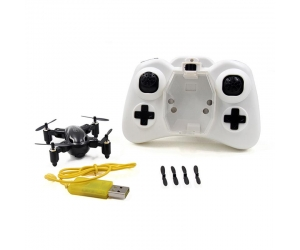 2016 Mini Folding RC Quadcopter 2.4GHz 4CH 6 Axis Gyro 360 Degree Eversion One Key Return with LED Light Drone RTF