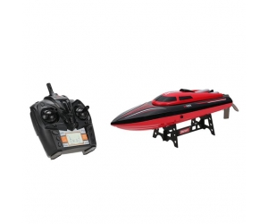 2016 New Boat Electric High Speed 2.4GHz 4Channel RC Boat With LCD Screen and 180 degree Flip