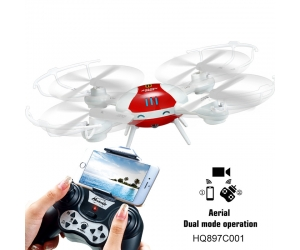 2016 New Wholesale  2.4G WIFI Rc Drone with 0.3MP Camera Aerial Dual Mode Operation With Headless Mode toys for kids