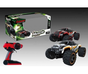 "2017  Newest !1:14 ""Mucle Monster"" 2.4GHz 2WD RC Off-road car,RC monster truck 15KM/H"