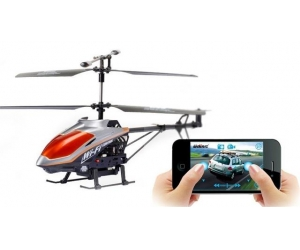 3ch Metel  with Gyro Wifi Iphone Controlled Helicopter