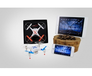 4-Axis 2.4GHz Mid Size Smart Phone Controlled Quadcopter With 3D Flip WIFI Control