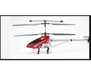 44cm Medium 3.5 rc helicopter with gyro, alloy body, stable flying in hot sale