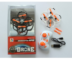4CH Mini RC QUADCOPTER WITH 6-AXIS GYRO