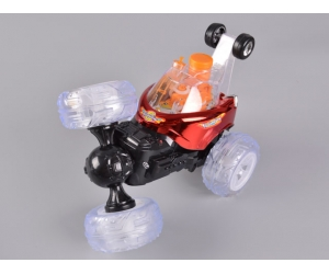 4CH RC Stunt Car With Blowing Bubble & Colorful Light