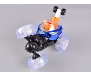 4CH RC Stunt Car With Shooting BB & Colorful Light
