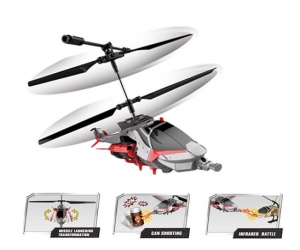 Fight! 3.5Ch infrared helicopter with folding tail