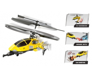 Fight! 3.5Ch mini helicopter with folding tail