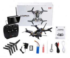 Jumper CX91 5.8G FPV Racing Quadcopter with 4.3 Inch 32CH Monitor 720P HD Camera RTF