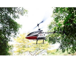 Large famos rc helicopter 3.5 Channels with gyroscoper, alloy body FPV function, real-time viewin,