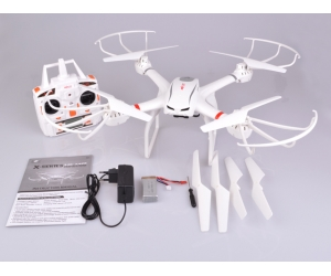 White Color 2.4G 6-Axis Gryo Big RC Drone With Headless Mode & One Key Return