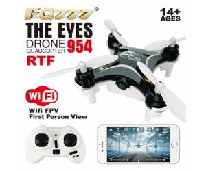 Mini RC Quadcopter Drone Wi-Fi FPV Real Time Transmission with 0.3MP Camera Black
