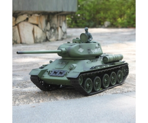 New 2.4G 1/16 Radio Control Heng Long T-34  Military Rc Tank With Smoking SD00308972