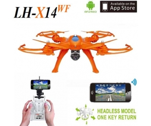 New Arrival !2.4G 4-aAxis WIFI RC Quadcopter drone with camera video transmitter