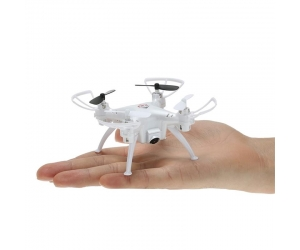 New Arrival !2.4G 4CH 6-Axis Gyro Mini Drone Toy RC Quadcopter with 2.0MP Camera and LED Light