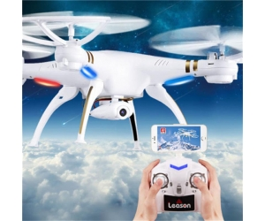 New Arrival !2.4G 4CH 6-axis Professional Wifi RC Quadscopter With Camera Headless Mode For Sale