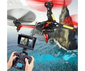 New Arrival !5.8G FPV RC Quadcopter With 2.0MP Camera 2.4G 4CH 6 Axis Headless Mode RC Drone RTF