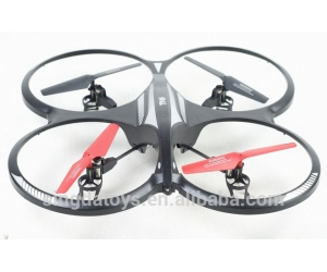 New Arriving!2.4G 4CH Big Size RC Drone With Camera With Altitude Hold And LED Light
