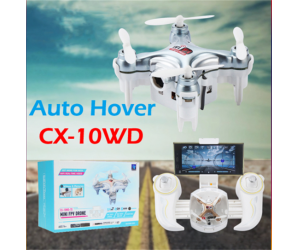 New Arriving! 2.4G 6-axis  Mini Wifi FPV Quadcopter with High Hold Mode RC Drone RTF
