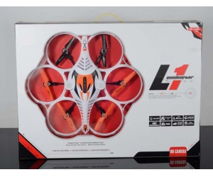 New Arriving 2.4GHz 6CH  RC Quadcopter with Gyro & Headless Mode,Auto-Return