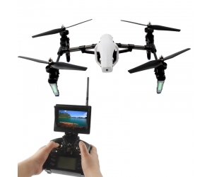 New Arriving! 5.8G 4CH Transform FPV Drone Professional One-Key-return & Headless Mode with 720P HD FPV Camera