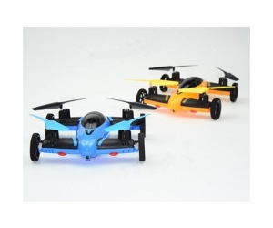 New Product ! 2 IN 1 2.4G 8CH 6-AXIS RC QUADCOPTER CAR