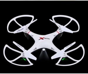 New bargain 36cm drone with headless mode, auto return, flashing light
