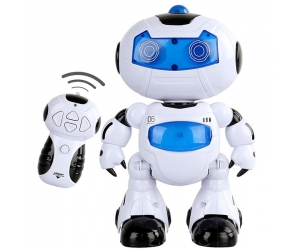Newest !High Quality RC Robot Toy Remote Control Musical Electronic Toy Walk Dance Lightenning Robot For Sale