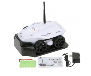 Newest !! RC Mini Tank RC Car WiFi Real-time Photo Transmission HD Camera IOS Phone or Android Toy