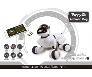 Singda Toys 2019  AI Smart Dog with voice control and feel touch