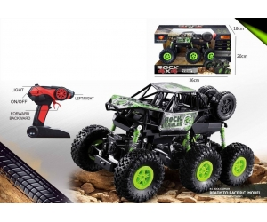 Singda Toys 2019 New arrived 1:16 2.4 Ghz 6wheels 4WD RC Rock Climbing Truck 5KM / H
