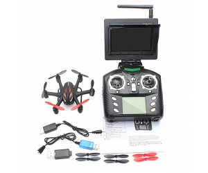 WLTOYS G 5.8G 4CH 6-AXIS WIith 2.0MP HD Camera FPV RC Hexacopter
