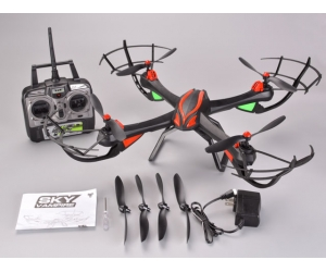Wholesale 2.4GHz 4CH RC Quad Copter with 6-AXIS GYRO & Altitude Hold SD00326951