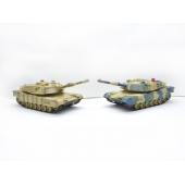 China 01:14 8 Channel Radio Control RC Battle Tank met infrarood & Station SD00316388 fabriek