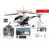 China 2.4G 3.5CH Wifi Control Rc Helicopter With Camera factory