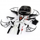China 2.4G 4CH 4 Axis Gyro Professional RC Quadcopter aircraft UFO with LCD screen Headless Mode factory